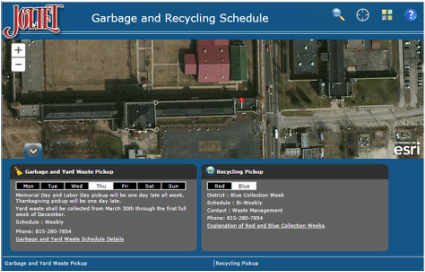 ArcGIS Online app screenshot